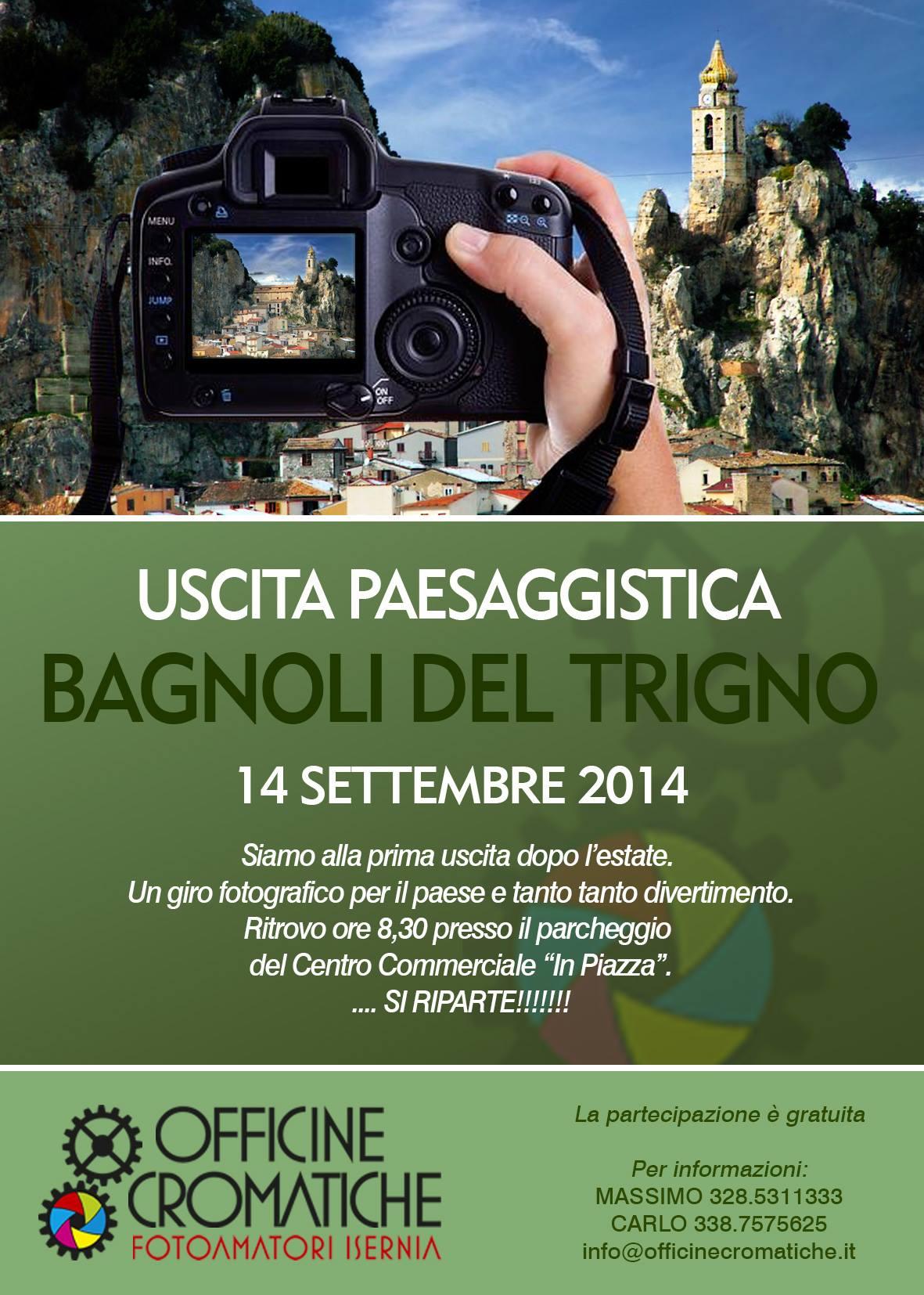 Uscita paesaggistica fotografica - Bagnoli del Trigno (IS)