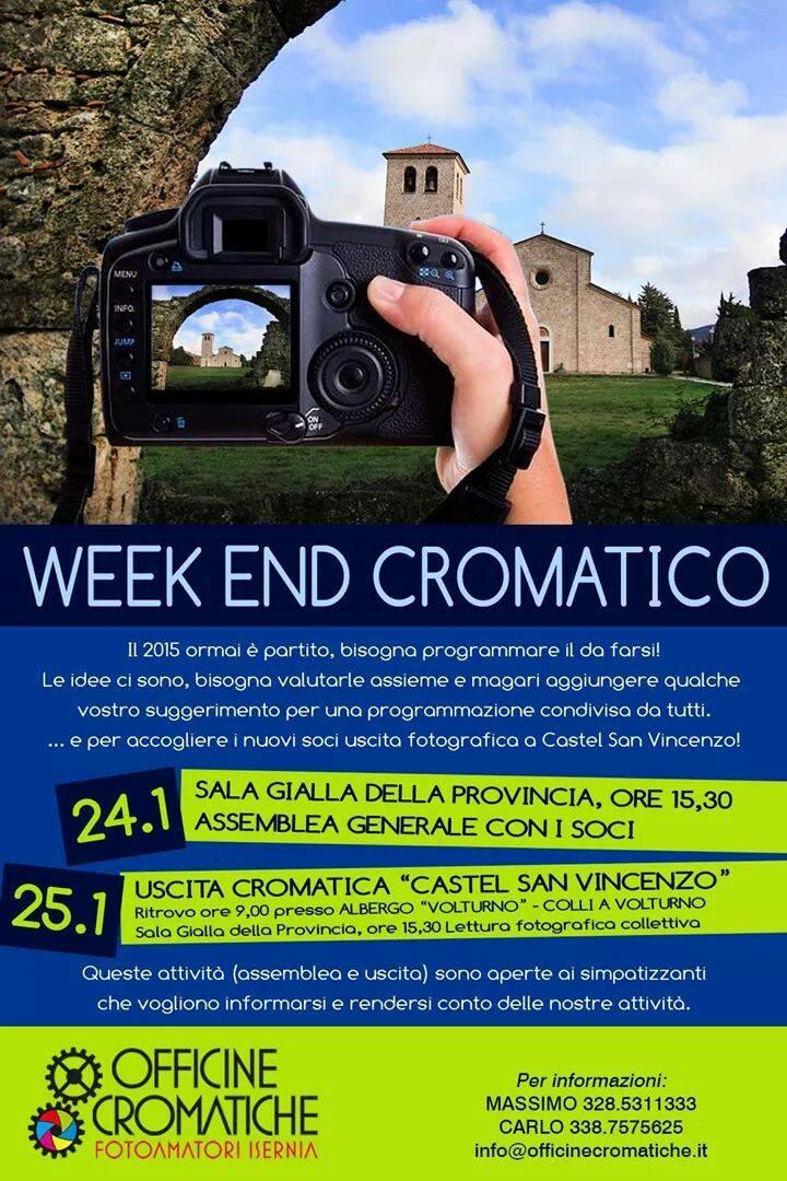 WEEK END CROMATICO