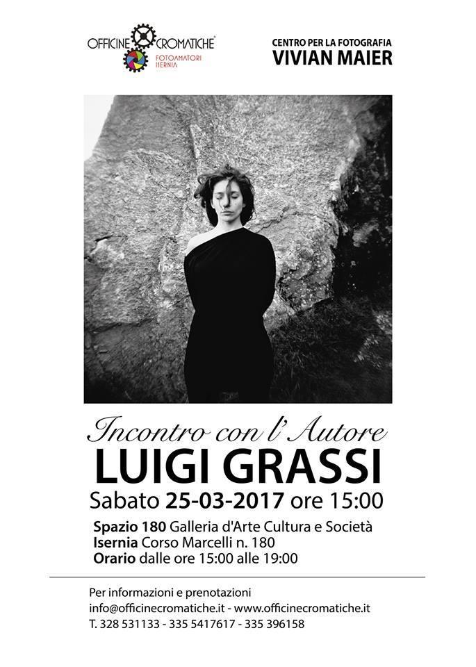 Incontro con il fotografo Luigi Grassi - 25 marzo 2017