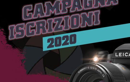 CAMPAGNA ISCRIZIONI 2020