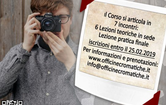 8° CORSO BASE DI FOTOGRAFIA